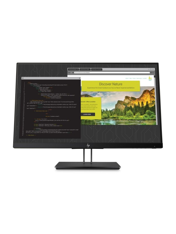HP Z24NF G2 Narrow Bezel IPS Display - Aspect ratio 16:9 Res 1920x1080 Ports 1x DVI-D 1x HDMI 1x DP 1.2 in/out 5.8ms response 3.3.0