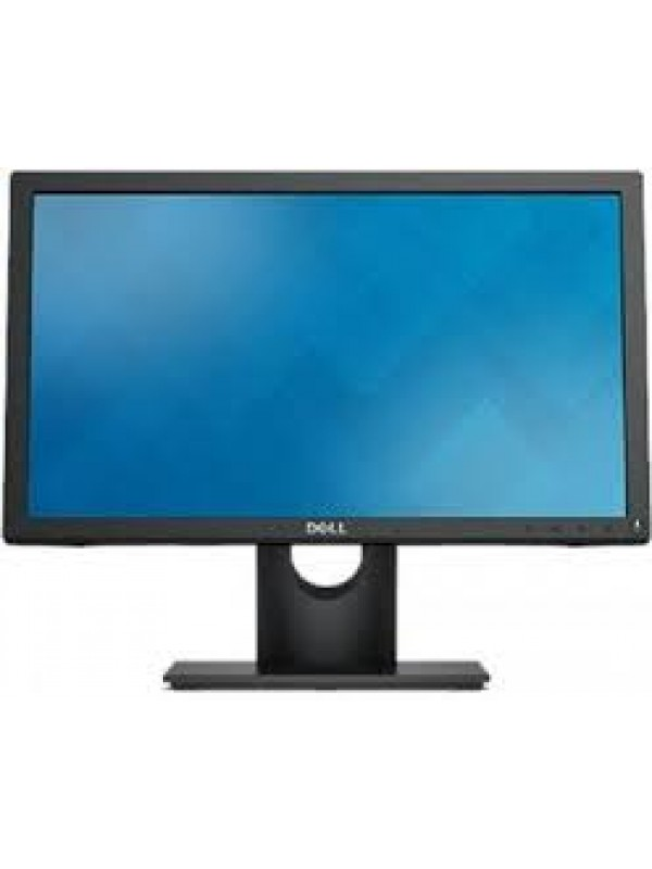 E1916He Black LED Monitor (1366 x 768) VGA DP - Tilt (DP Cable included)