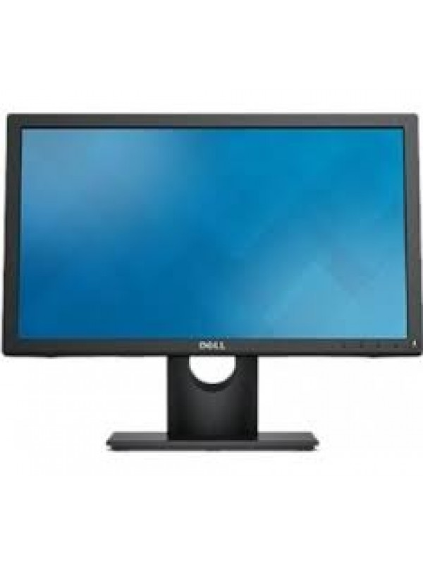 E1916HV Black LED Monitor (1366 x 768) VGA Only - Tilt (VGA Cable included)