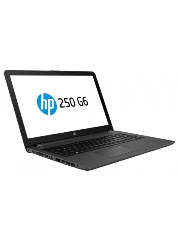 HP 250 G6 Intel Core i5-7200U 4GB DDR4 2400 1 DIMM 500 GB 5400rpm DVD+/-RW - Fixed NO 56K Modem Intel 3168 AC 1x1 BLUETOOTH 15.6 HD LCD Mobile Intel Graphics Media Accelerator Windows 10 Home Emerging Markets 64 (No downgrade to Win 7 supported) 1~1~0 - S