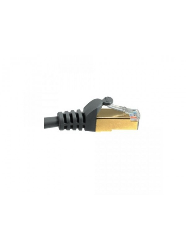 HAMA CAT5E NETWORK CABLE STP SHIELDED GREY 3M