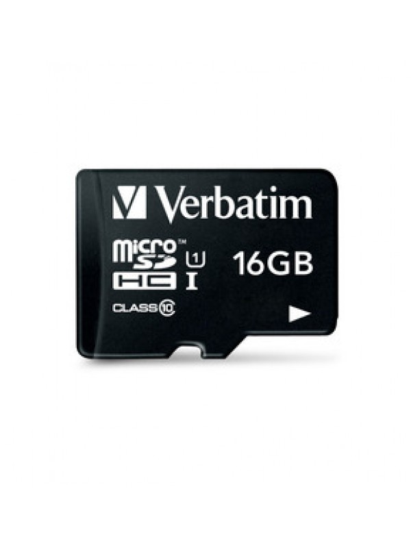 VERBATIM - 16GB MICRO SDHC PLUS ADAPTOR