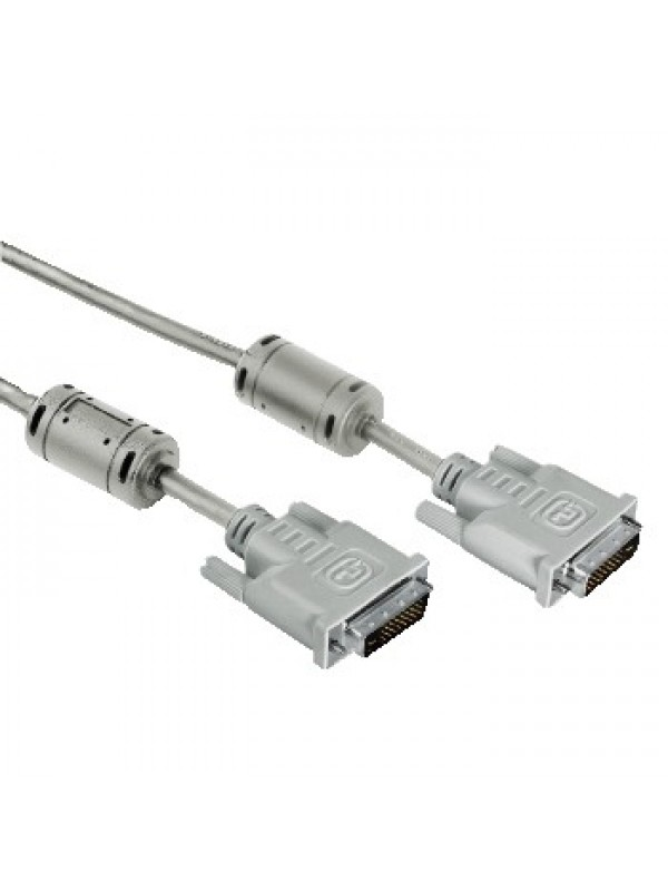HAMA DVI DUAL LINK CABLE DOUBLE SHIELDED 1.8M