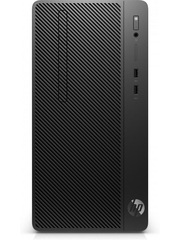 HP 285 MT G3 AMD Ryzen 3 2200G Quad Core 4GB DDR4 2666MHz 500GB HDD 7200 SATA AMD Radeon Vega 8 Graphics DVD+/-RW Win 10 Pr 64-bit 1-1-1 - SEA