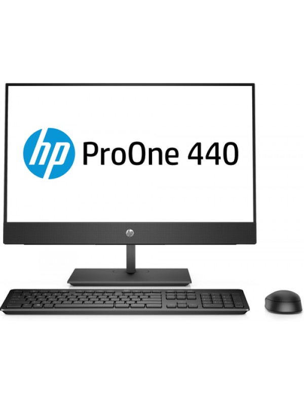 HP 440 G4 AIO 23.8 FHD NON TOUCH i5-8500T 8GB 1TB HDD DVD-WR 1yw USB Slim kbd USBmouse HA Stand Speakers No Intel vPro Intel 9560 AC 2x2 nvP BT Sea and Rail Integrated FHD 1080p Webcam HP HDMI Port Win10 Pro 64bit 64bit (No downgrade to Win 7 supported -