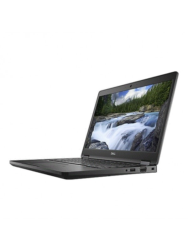 Dell Latitude 5490 Intel Core i5-8350U (1.7GHz) vPro Integrated UHD Graphics 620 14 Non-Touch Anti-Glare FHD with Camera (1920X1080) 8GB (1x8GB) 2400MHz DDR4 memory 256GB 2.5 SATA SSD Drive Qwerty Backlit Keyboard 4-cell 65W/Hr Battery 65W AC Adapter WLAN