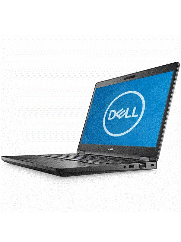 Dell Latitude 5490 Intel Core i5-8350U (1.7GHz) vPro Integrated UHD Graphics 620 14 Non-Touch Anti-Glare FHD with Camera (1920X1080) 8GB (1x8GB) 2400MHz DDR4 memory 500GB 7200RPM SATA Drive Qwerty Backlit Keyboard 4-cell 65W/Hr Battery 65W AC Adapter WLAN