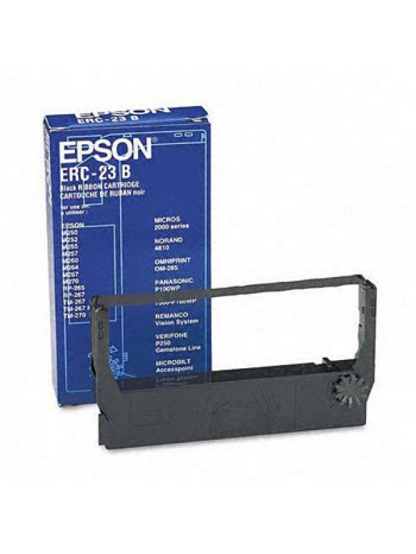 EPSON - RIBBON - ERC23 - BLACK - M260 / 280 / TM267 / 270
