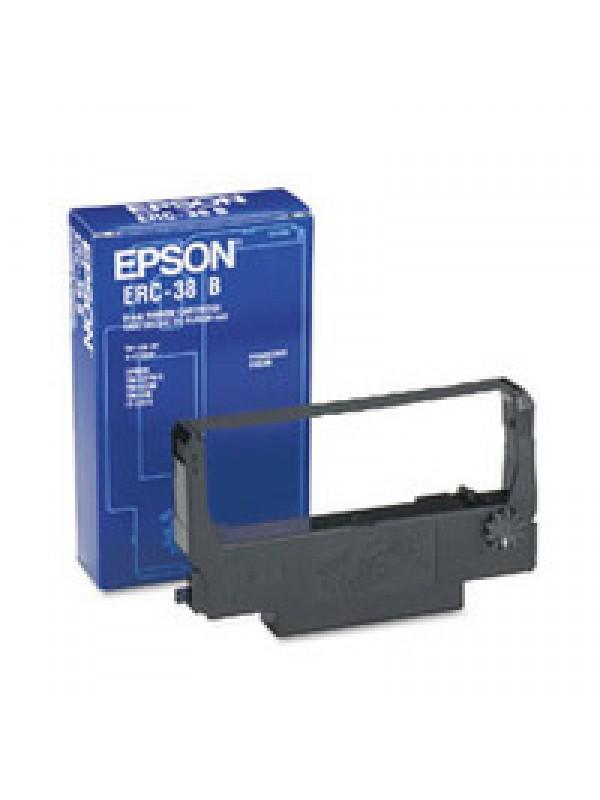 EPSON - RIBBON - ERC38B - BLACK - TMU210 / TM300A / B / C / D
