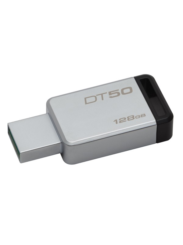 128GB USB 3.0 DataTraveler 50 (Metal/Black)