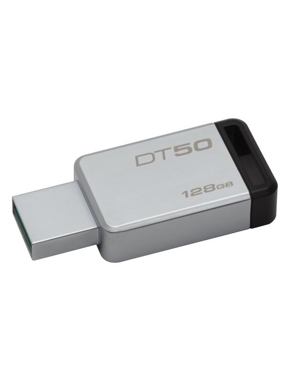 128GB USB 3.0 DataTraveler 50 (Metal/Black)