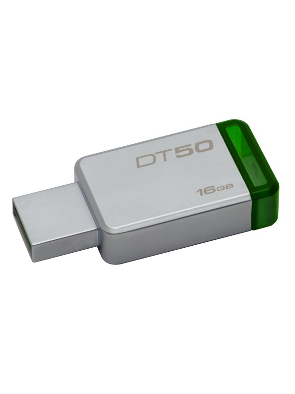 16GB USB 3.0 DataTraveler 50 (Metal/Green)