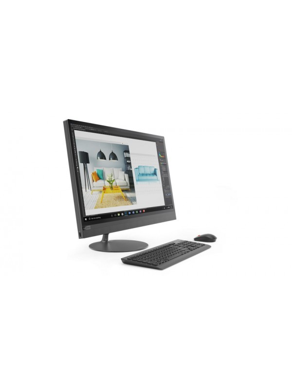 Lenovo Ideacentre 520 AIO 23.5 Inch (1920x1080) IPS Touch Intel Core i7 8700T 8GB 1TB 7200rpm DVD-RW 11ac 1x1 + BT4.0 Camera 720p Integrated Intel UHD Graphics 630 AMD Radeon 530 2GB GDDR5 Mouse and Keyboard Included Windows 10 Home 64 1 Year CIW Silver