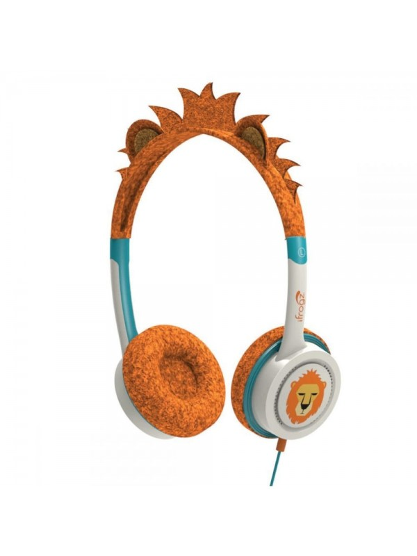 ZAGG - LITTLE ROCKERZ COSTUME - HEADPHONES - ORANGE LION