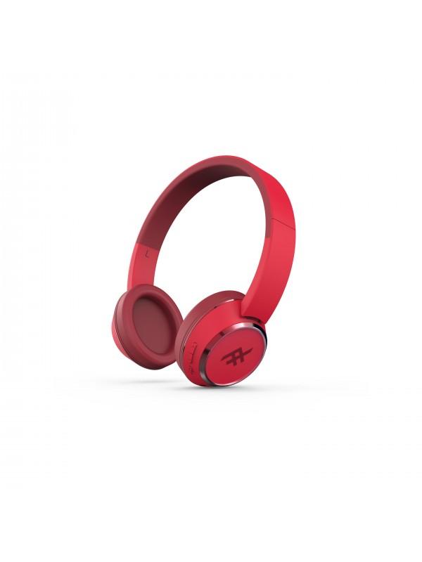 IFROGZ CODA WIRELESS HEADPHONE - RED