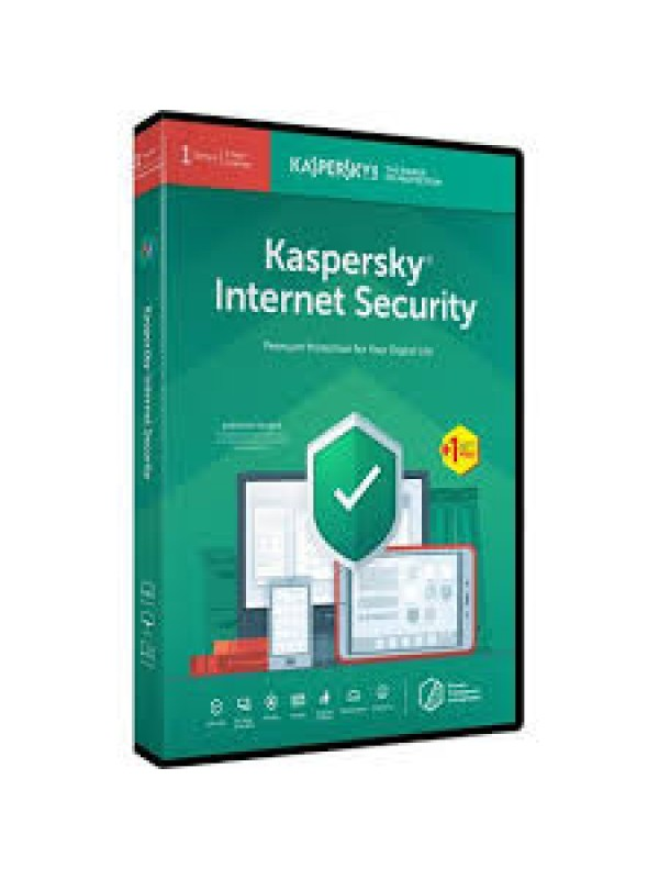 Kaspersky Internet Security 2019 1+1 free device 1 year (Retail package)