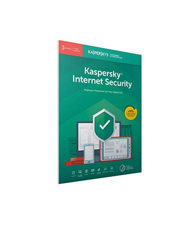 Kaspersky Internet Security 2019 1+1 free device 1 year DVD