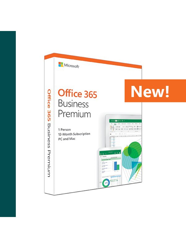 Office 365 Business Premium (Medialess. 1 Year Subscription)