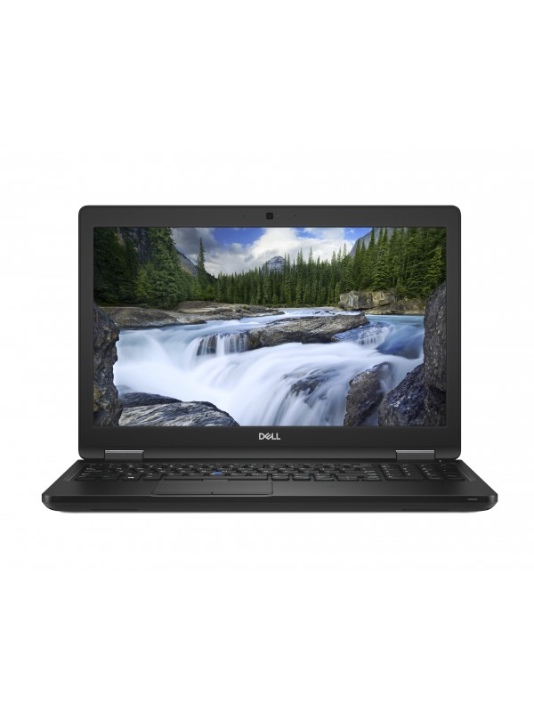 Dell Latitude 5590 Intel Core i5-8250U (1.6GHz) Integrated UHD Graphics 620 15.6 Non-Touch Anti-Glare HD with Camera (1366X768) 4GB 2400MHz DDR4 memory 500GB 7200RPM SATA Drive Qwerty Backlit Keyboard 4-cell 65W/Hr Battery 65W AC Adapter WLAN Smart Card R