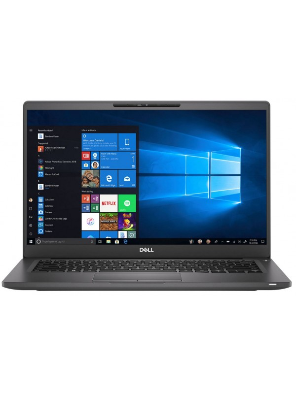 Latitude 7400: Intel Core i7-8665U (1.9Ghz 8M Cache) 14 inch FHD (1920X1080) LCD backlit Non-Touch Intel UHD 620 Light Sensitive Webcam & Microphone 8GB (1x8GB) 2666MHz DDR4 Memory 512GB SSD PCIe M.2 Solid State Drive 4-Cell Battery Intel Dual Band Wirele