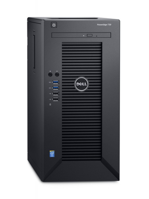 DELL POWEREDGE T30 INTEL XEON E3-1225V5 8GB 2400MHZ UDIMM 1TB SATA DVD-RW 1YRNBD