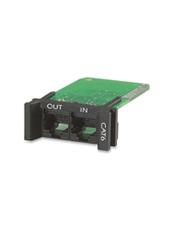 REPLACEABLE RACKMOUNT 1U CAT 6 NETWORK SURGE PROTECTION MODULE