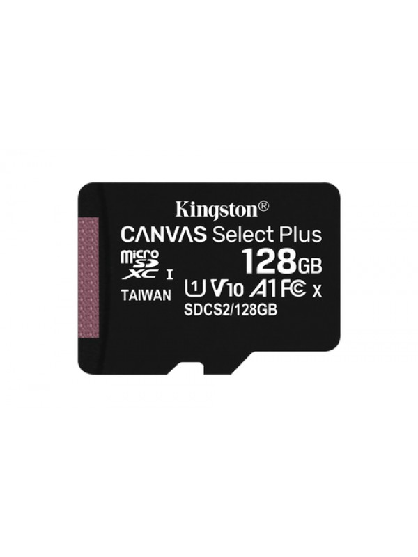 128GB micSDXC Canvas Select Plus 100R A1 C10 Card + ADP