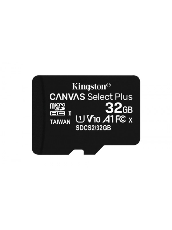 32GB micSDHC Canvas Select Plus 100R A1 C10 Card + ADP