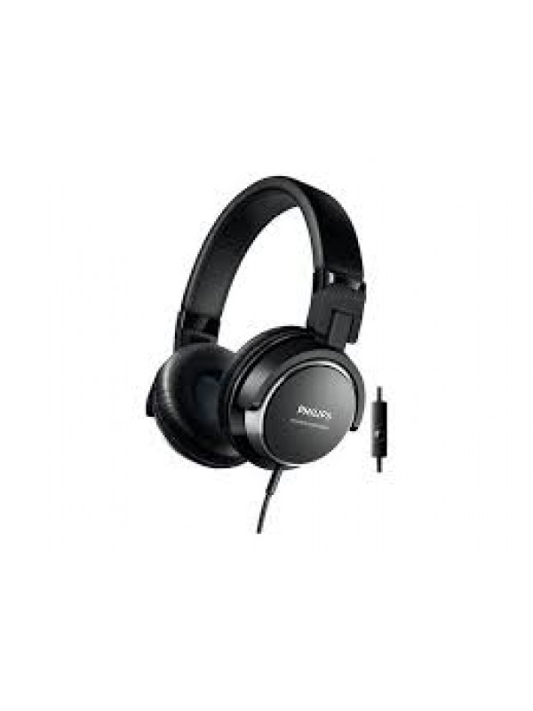 PHILIPS SHL3565 HP W/MIC - BLACK