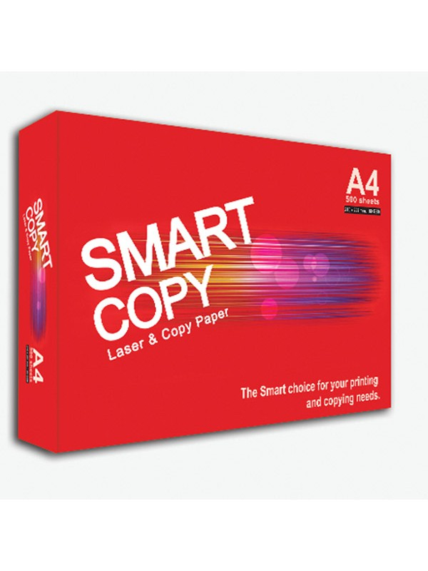 PAPER SMART COPY A4 (BOX OF 5 REAMS) WHITE 80GSM (500 SHEETS)