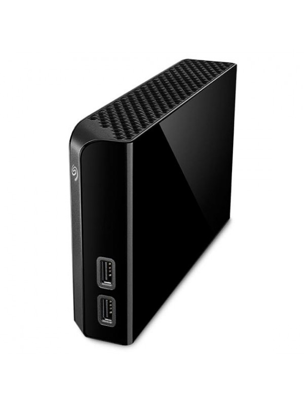 Seagate Backup Plus 3.5 Desktop 6TB USB 3.0 Hard Drive. Protect your data with easy flexible backups. Save photos automatically from your social networks. Share photos and videos to social networks with a click. 2 Years Warranty. Black