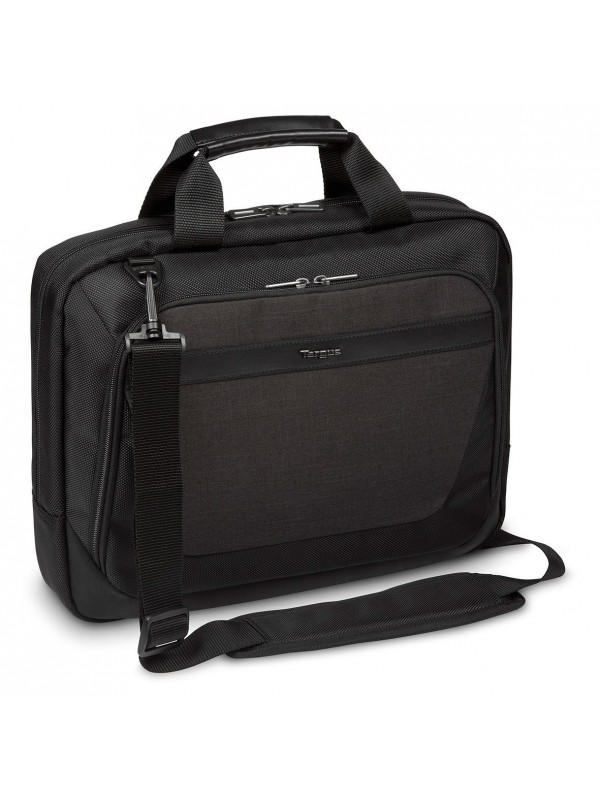 TARGUS - CITYSMART ESSENTIAL MULTI-FIT 12.5-14 LAPTOP TOPLOAD BLACK & GREY