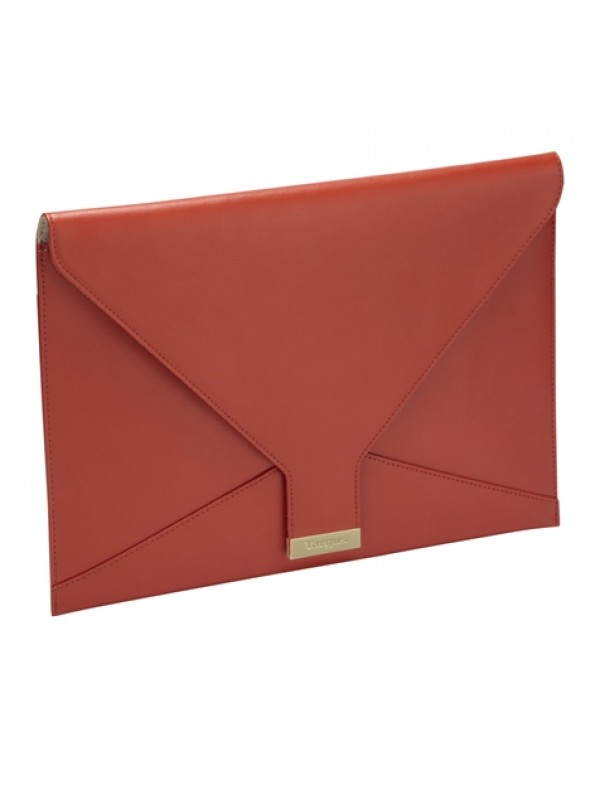 TARGUS - CLUTCH BAG FOR ULTRABOOK & MACBOOK LEATHER 13.3 RED