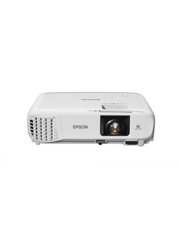 EB-W39 Mobile WXGA 1280 x 800 1610 HD ready 3500lumen- 2280lumeneconomy 15000 1 RGB in 2x VGA out USB 20 Type A Stereo mini jack audio in 2x Composite in RS-232C S-Video in VGA in 2x Stereo mini jack audio out HDMI in 2x USB 20 Type B Ethernet interface 1