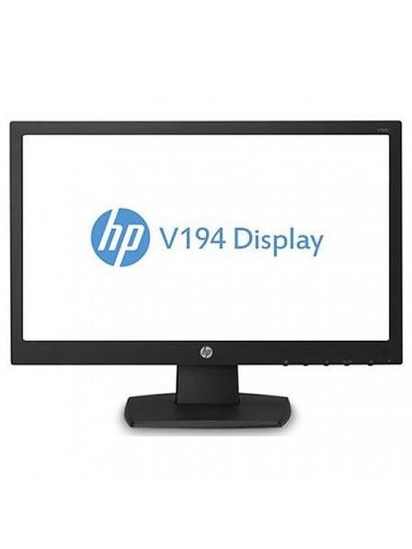 HP V194 18.5 LED LCD Monitor - Aspect Ratio 16:9 Res 1366x768 Ports 1xVGA 5ms response 1.1.0 - SEA FREIGHT