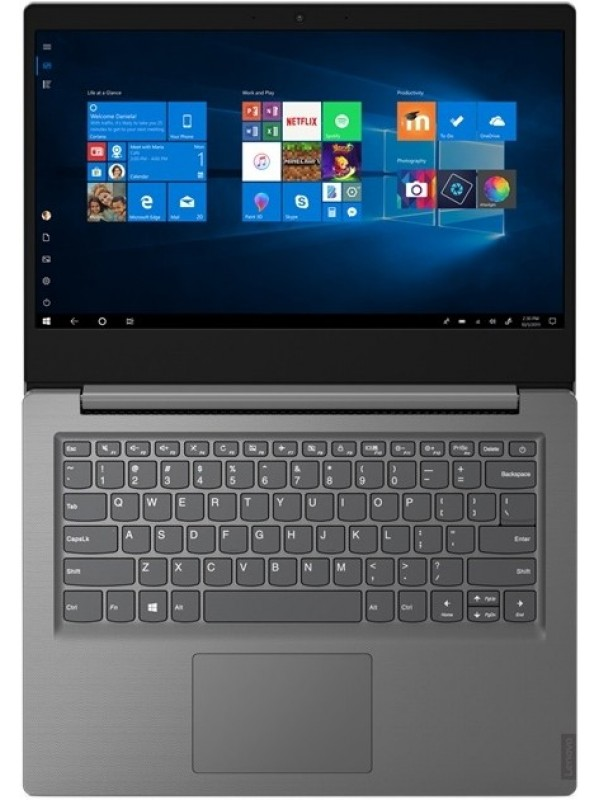 Lenovo V14 Intel Core i3-1005G1 8GB (4Base+4) DDR4 256GB M.2 2242 PCIe NVMe Integrated Graphics FHDWin 10 Pro 64 Wi-fi AC 1x1 + BT N-FPR 0.3MP Camera 2 Cell 35Whr 65W AC KYB US English 1 Year Carry-in Warranty Iron Grey