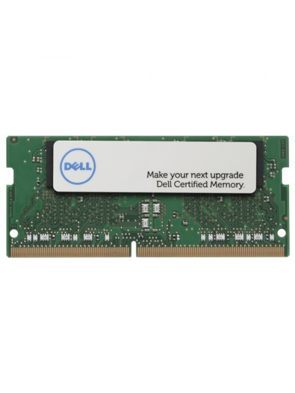 4 GB Memory Module for selected Dell systems - DDR4 2400MHz SODIMM 2RX8 Non-ECC