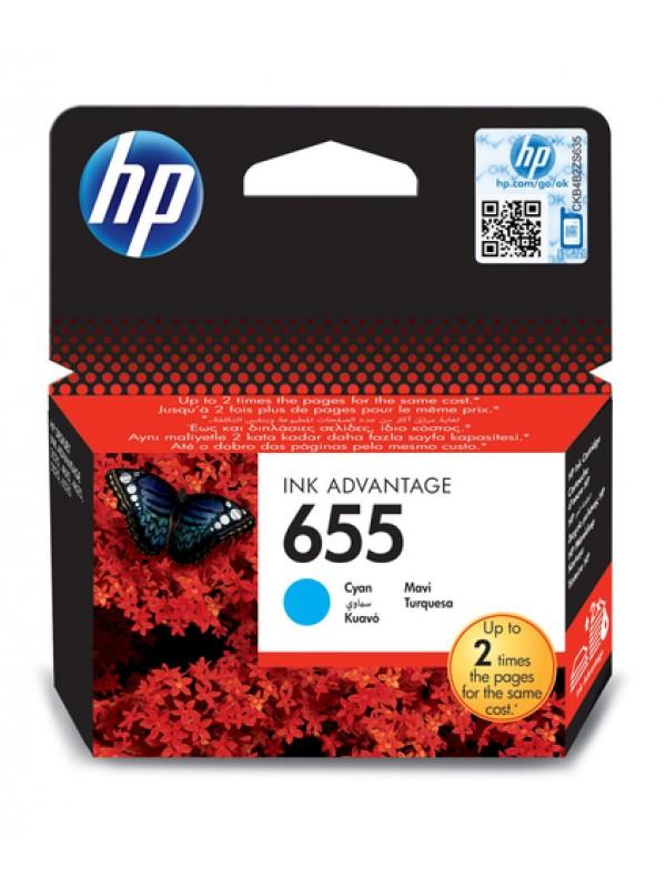 HP # 655 CYAN INK CARTRIDGE - NEW