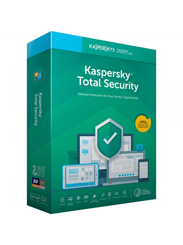 Kaspersky Total Security 2019 1 Device 1 Year